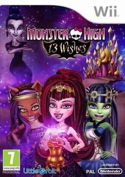 Descargar Monster High 13 Wishes [MULTI5][PAL][SCOOPEX] por Torrent